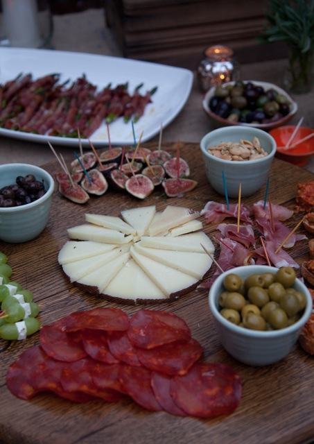 spanish cheeses and cured meats