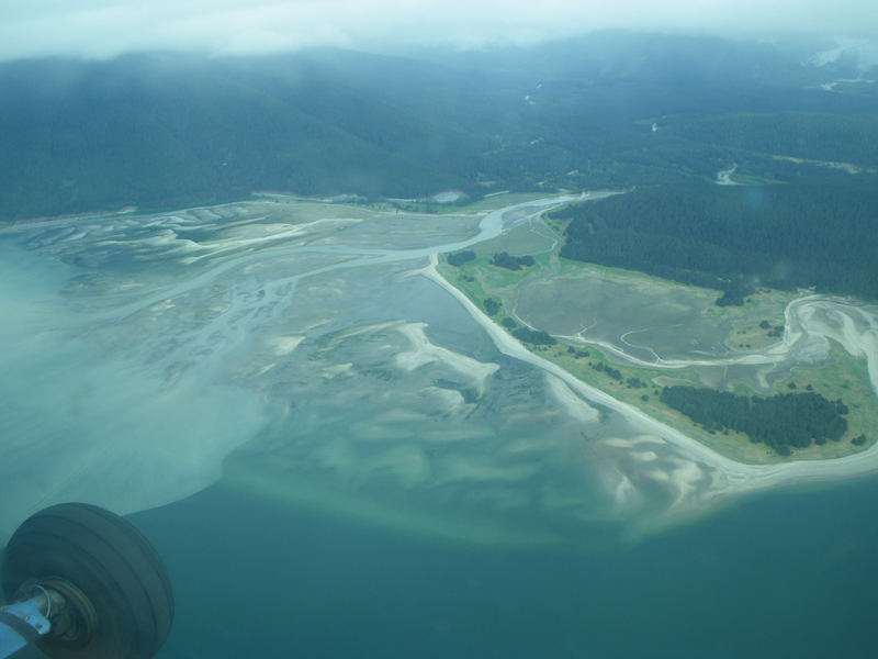 Haines, Alaska from above