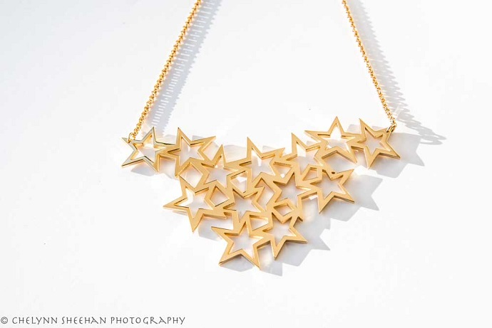 Haarstick Multi Star Necklace