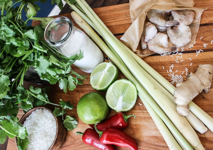 Thai-Lemongrass-curry-ingredients