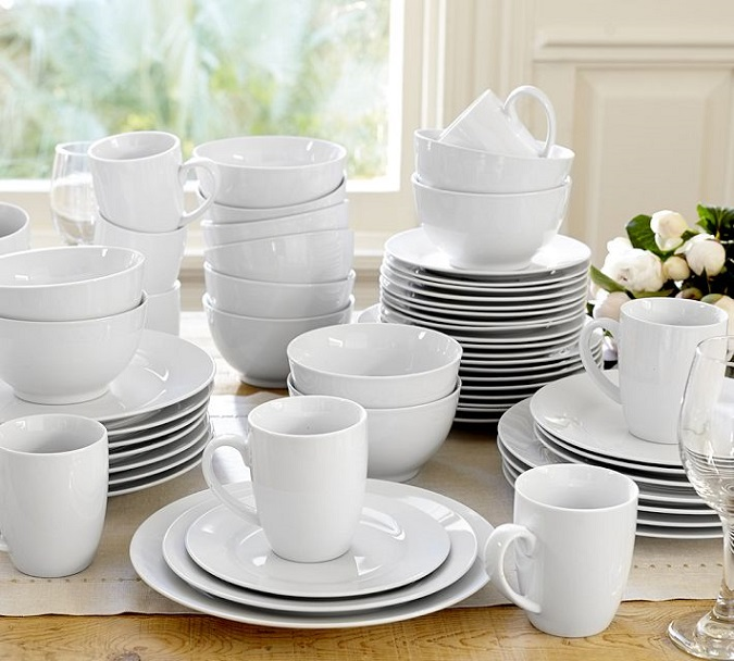 pottery barn caterer dinnerware