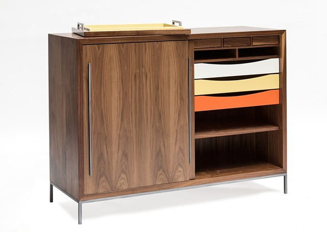 Zak Rose Walnut Sideboard