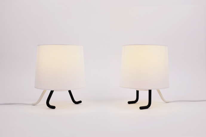 The Identity lamp by South Korean design firm Rising brings a lot of personality to any room.