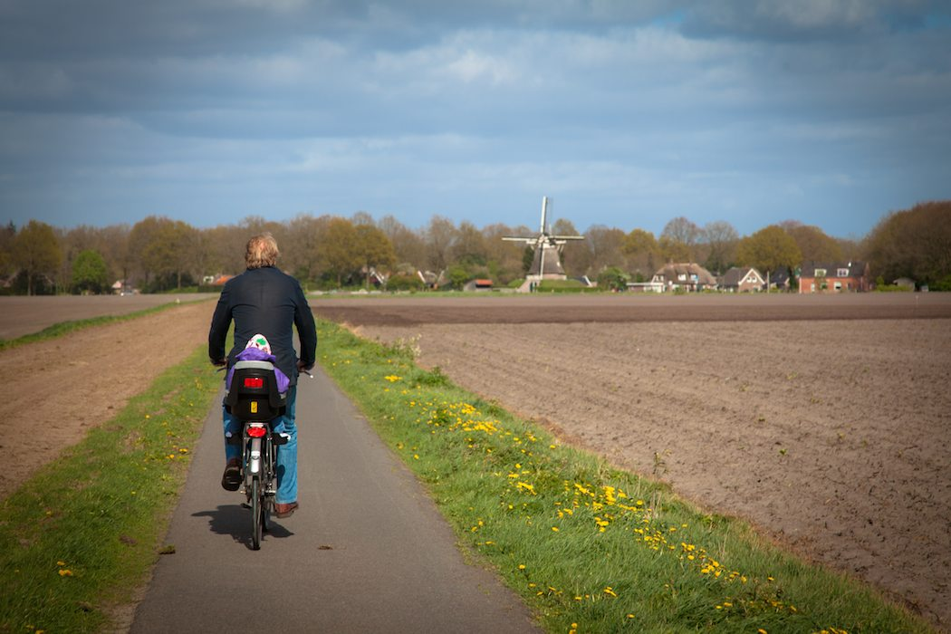 biking holland