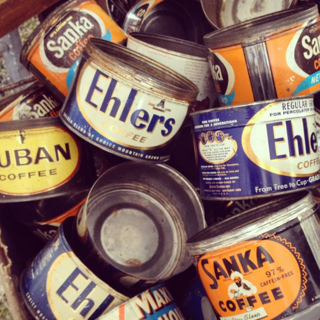 brimfield-antiques-fair-vintage-coffee-cans