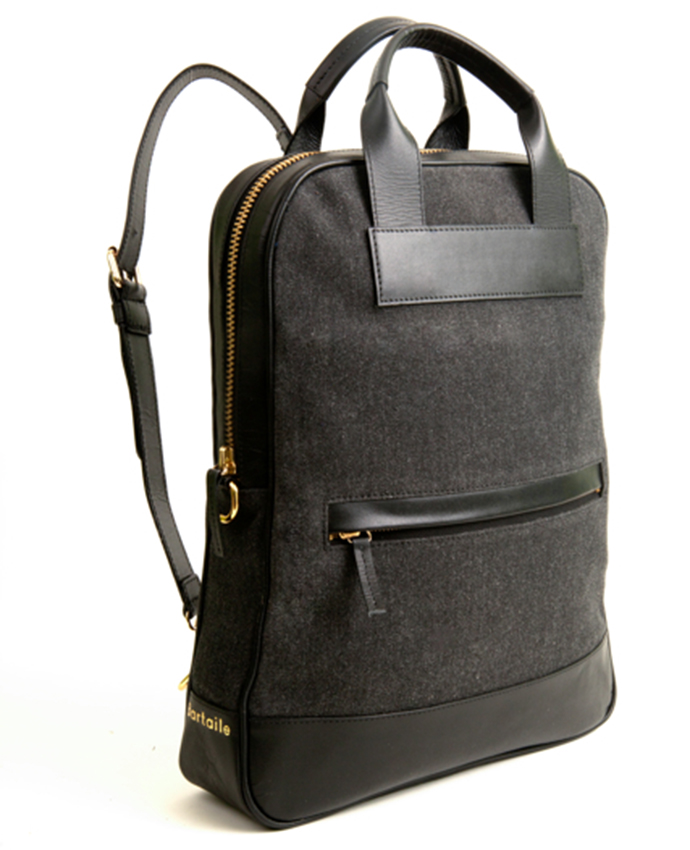 The Journey Bag in Heathered Grey Canvas