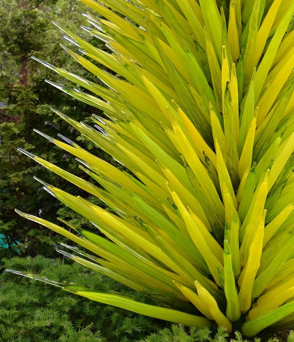 Chihuly Spike Tree