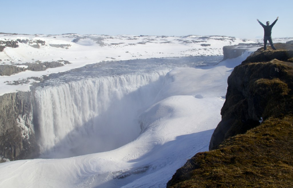 Dettifoss , Europe's most powerful waterfall