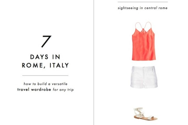 minimalist packing tips into-mind-rome-packing