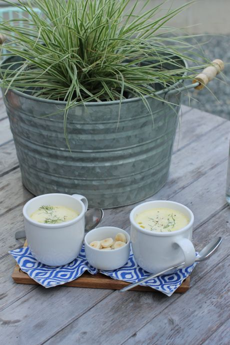 Clam chowder-New England Clam Chowder
