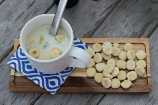 Summer clam Chowder-New England Clam Chowder-Newport-RI
