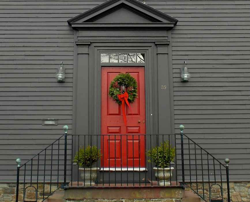 Christmas in Newport RI