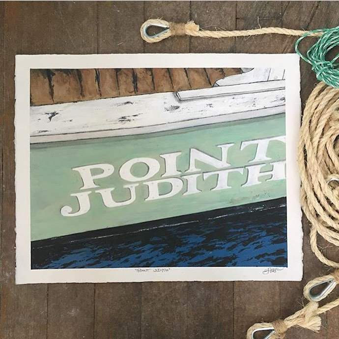 point judith ri painting kevin eager
