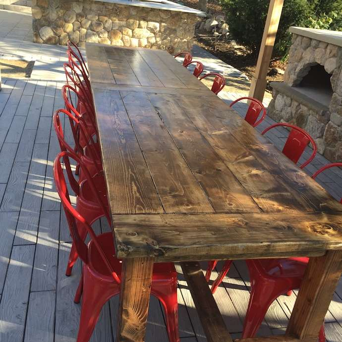 Ruff Wood Design pany's Farmhouse Chic Tables