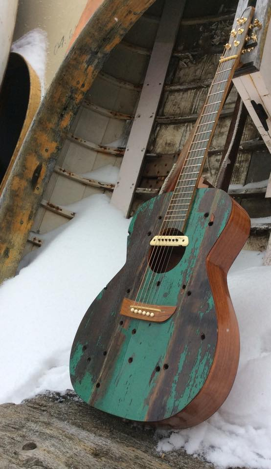 reclaimed-wood-guitar-in-snow