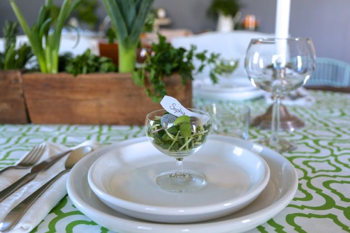 Fresh herbs bring spring right to your table