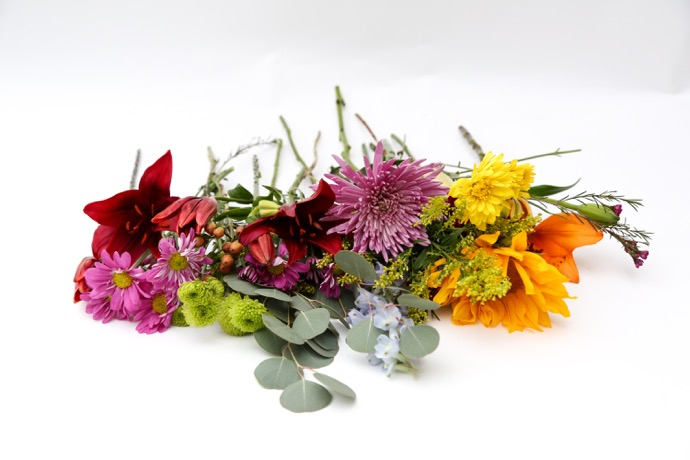 Deconstructing Grocery Store Flowers - 1 of 3