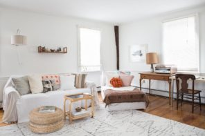 Minimalism and Nostalgia in a Colonial Home in Newport