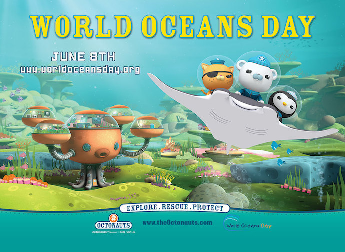 Octonauts for World Ocean Day