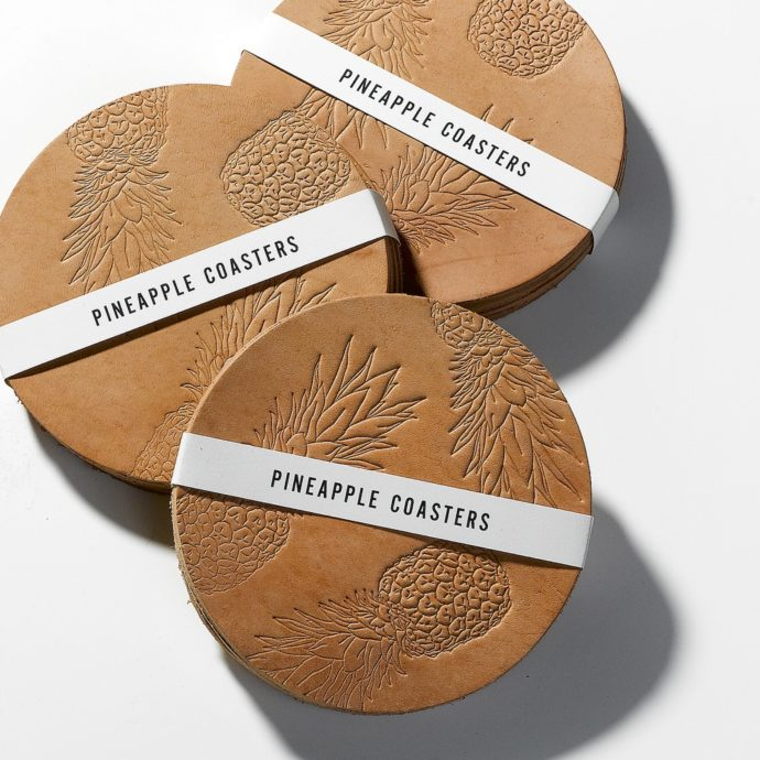 Pineapple_Coasters_Natural_Set