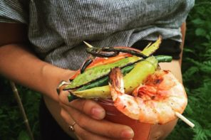 This Bloody Mary Is Made With Fresh Tomatoes