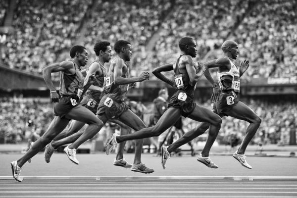 Olympic Runners, London 2012