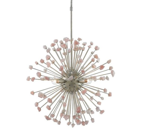 Currey and Company Moon Quartz Chandelier