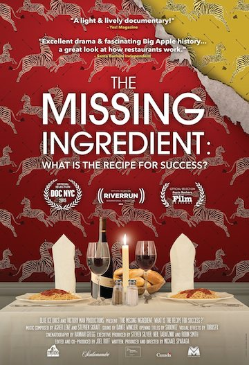 The Missing Ingredient documentary poster
