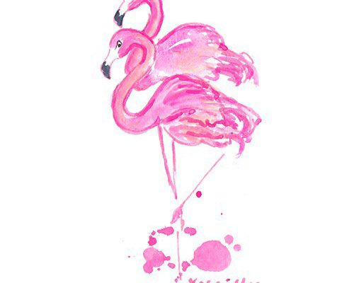 lilly-emojis-flamingo