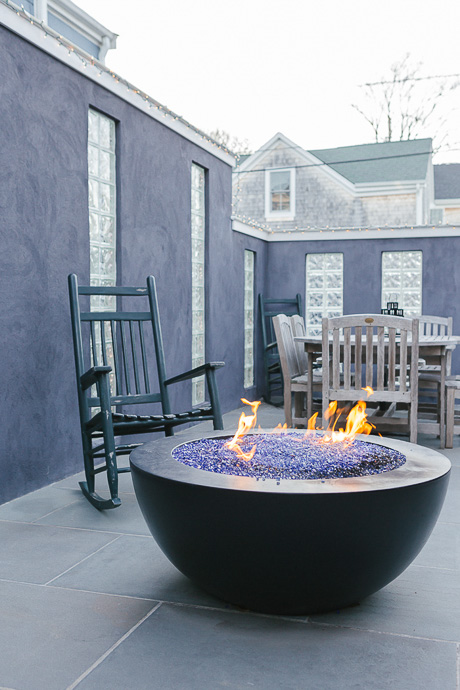 Hinckley house tour vespa christmas tree newport ri fire pit