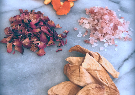 DIY Herbal Tub Tea