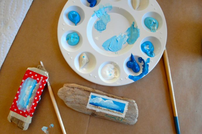 DIY cloud painting with Kristen Coates