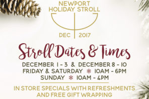 Newport Holiday Stroll: Make Your Shopping an Experience
